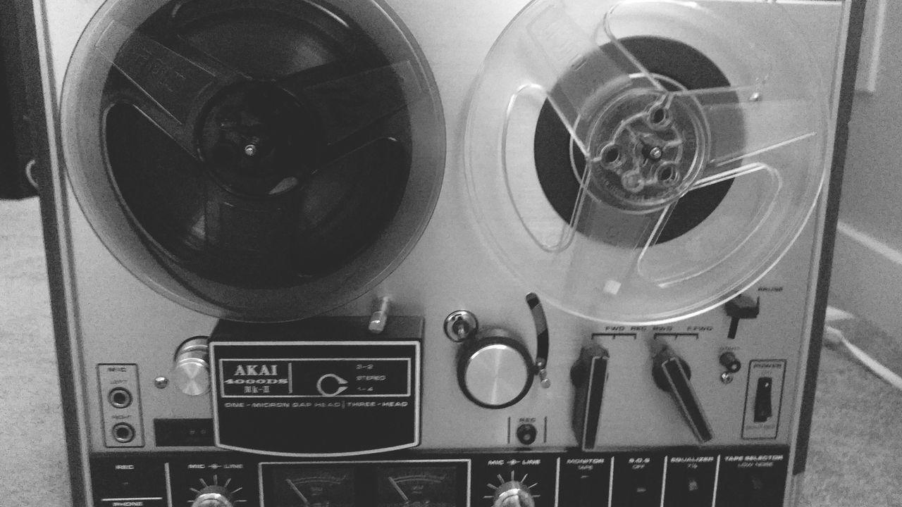 Tape Recorder Tape Akai Vintage Recording Studio Reeltoreel