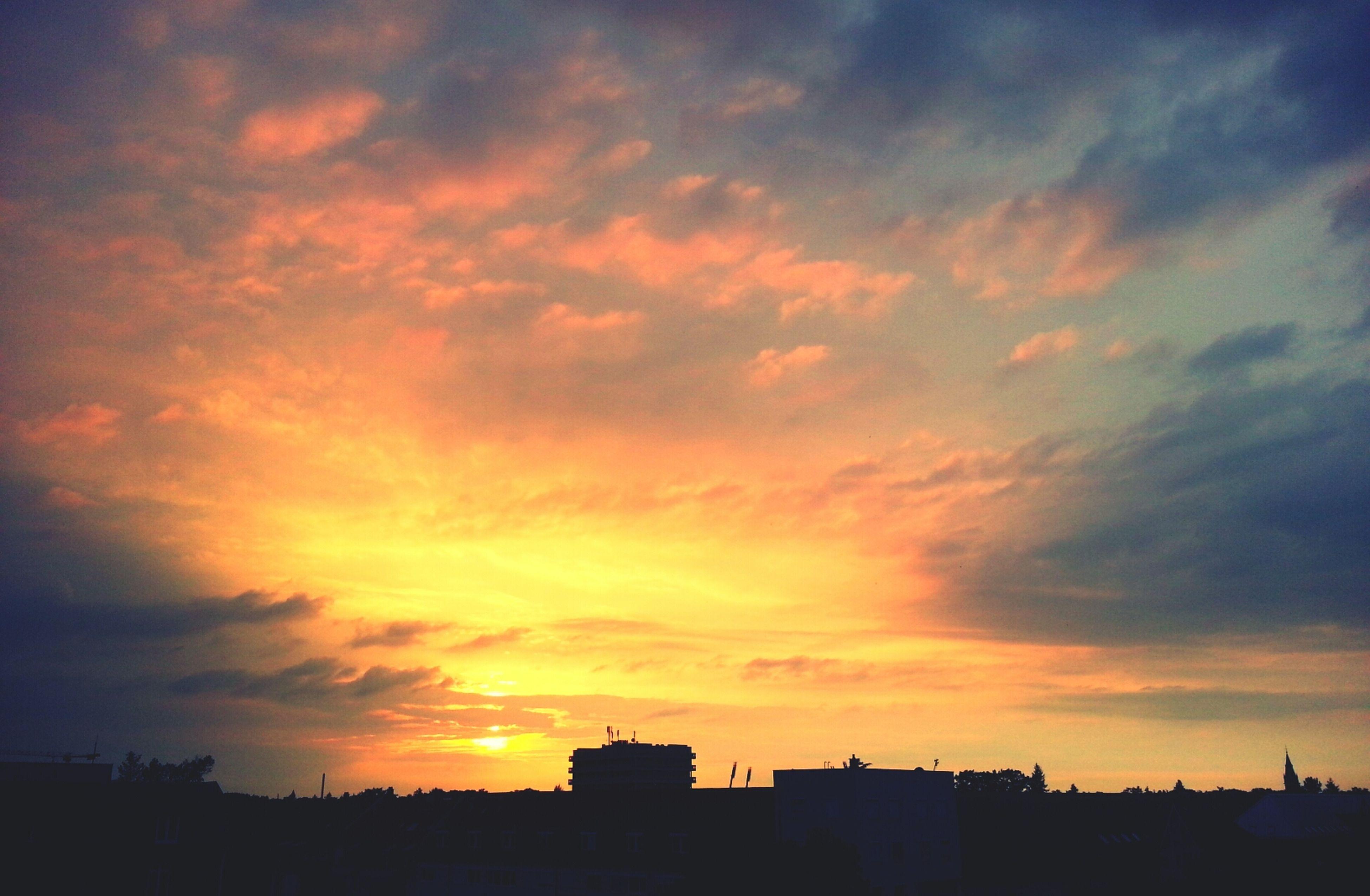 Relaxing Sonnenuntergang
