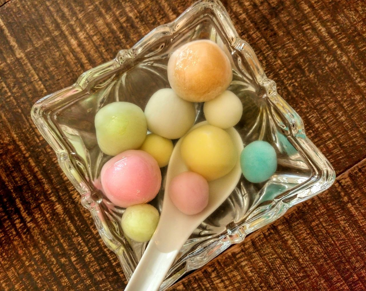 Tangyuan Winter Solstice Dessert Colorful Dongzhifestival Chinese Culture Reunion♥ Traditional Round Balls Ginger Infuse Syrup Togetherness Visual Feast