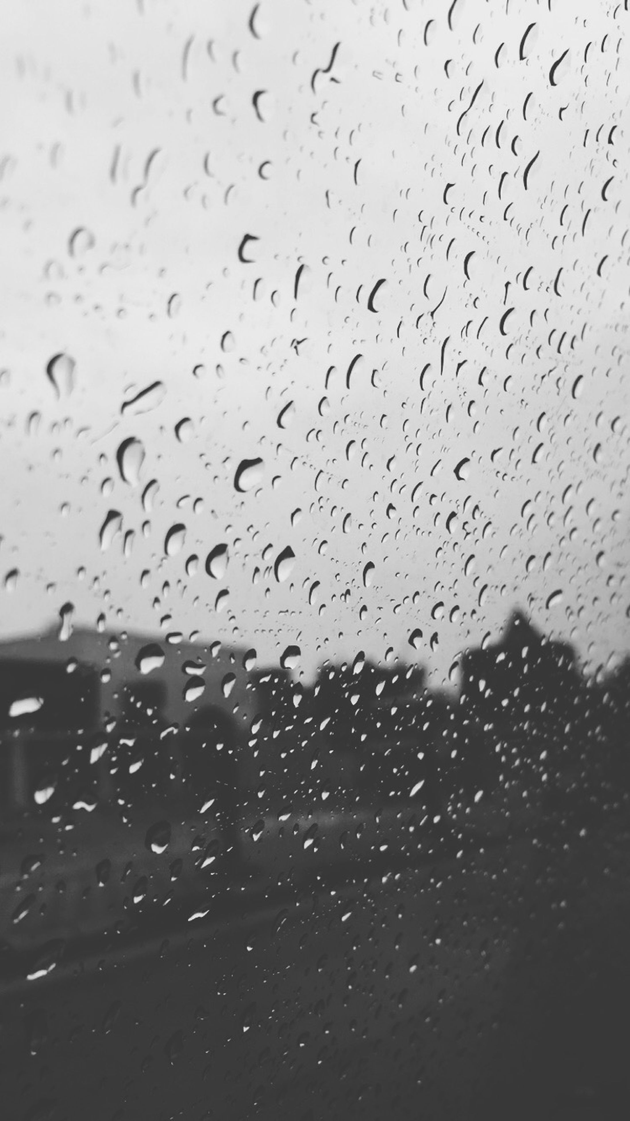 drop, window, wet, indoors, transparent, glass - material, water, rain, weather, season, raindrop, glass, backgrounds, focus on foreground, full frame, sky, close-up, looking through window, no people, day