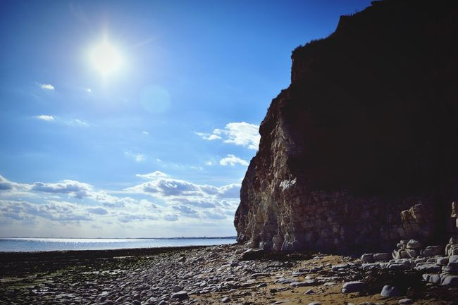 South Landing Beach. Beach Sea And Sky Yorkshire Cliffs Coast Water
