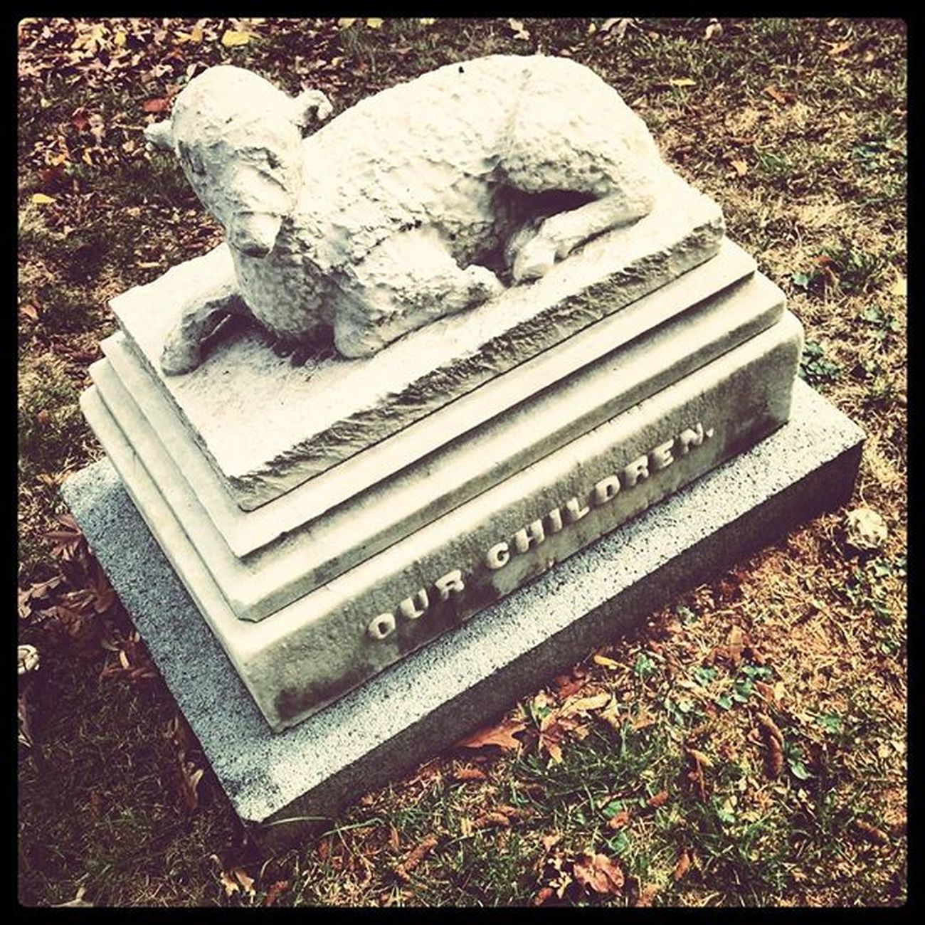 Babylamb Mountauburncemetery Cemetery Boston