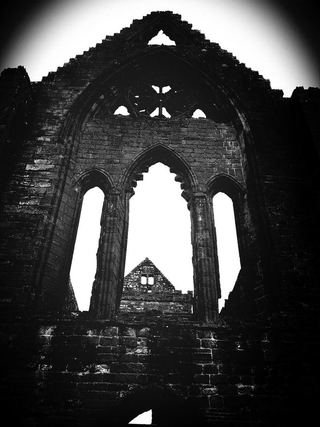 Sweetheart Abbey; Dumfries and Galloway. Snapshot. Blackandwhite Bw_collection EyeEm Best Edits Eye4photography