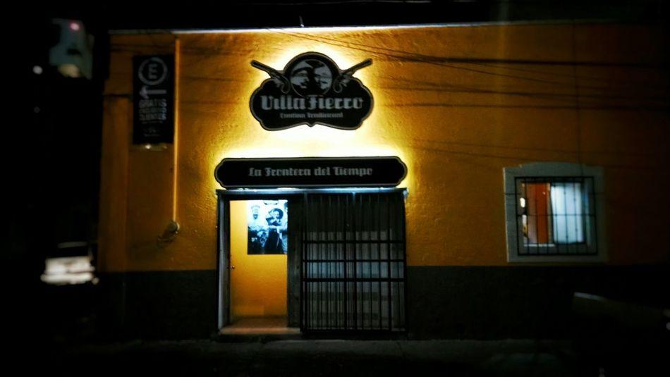 """Villa Fierro"" Bar"