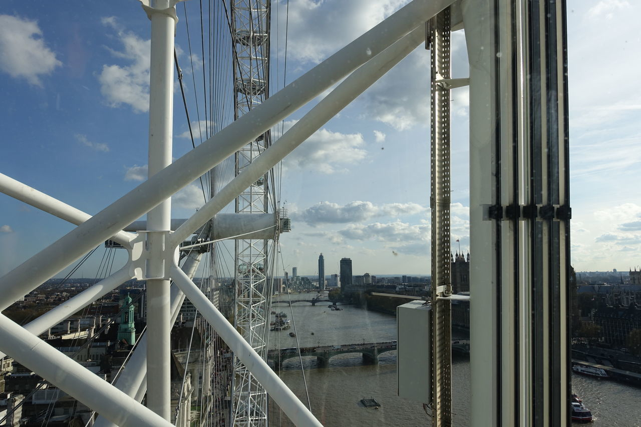 inside one of London Eye capsules. Attractions Ferris Wheel Landmark London Eye Places To Visit Sightsandsceneries Sightseeing The London Eye Travel Destinations