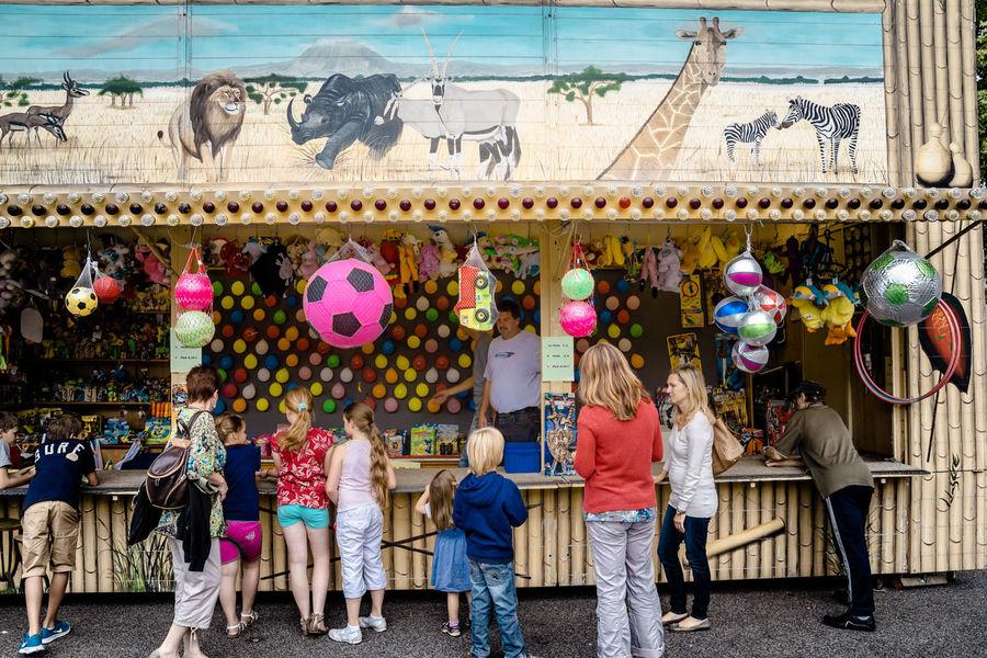 Funfair Day Funfair Funfair Streetphotography Leisure Activity Lifestyles Outdoors Person Suburbia