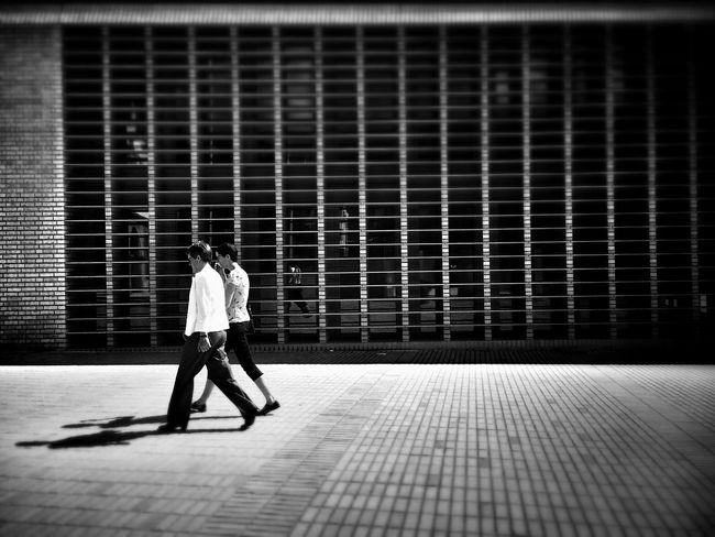 Off The Grid Andrographer Two By Two Liechtenstein Streetphoto_bw