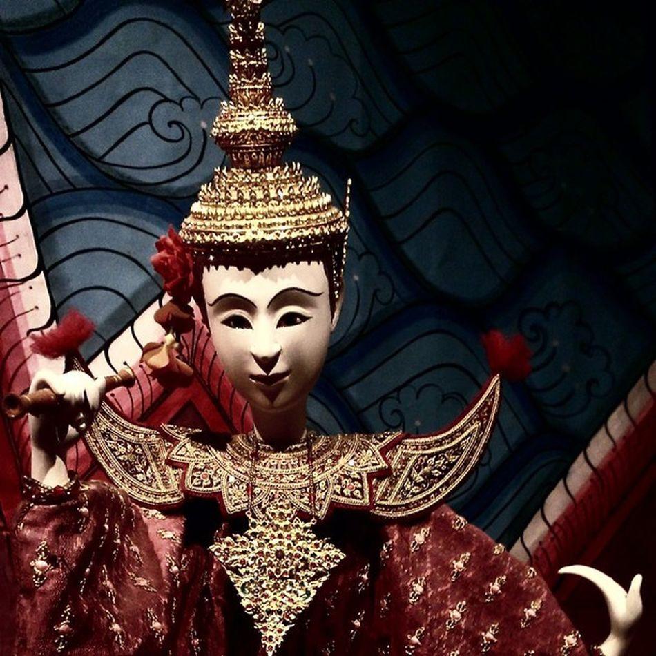 Thai's puppet @ Nitatrattanakosin exhibition hall Puppet Thailand Photooftheday Culture Craft Handcraft Itsdagram Gorgeous Beautiful Graceful Htc8x WP8 Tradition