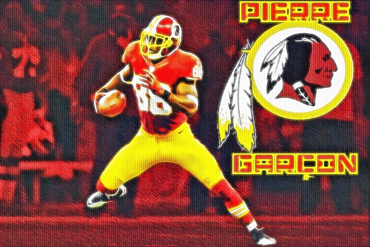 Pierre Garcon Sports Art Being Creative Washington Redskins