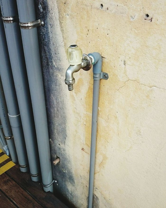 Faucet Water-tap Outdoors Wall - Building Feature No People Relaxing Taking Photos Hello World Cheese! Check This Out Hanging Out