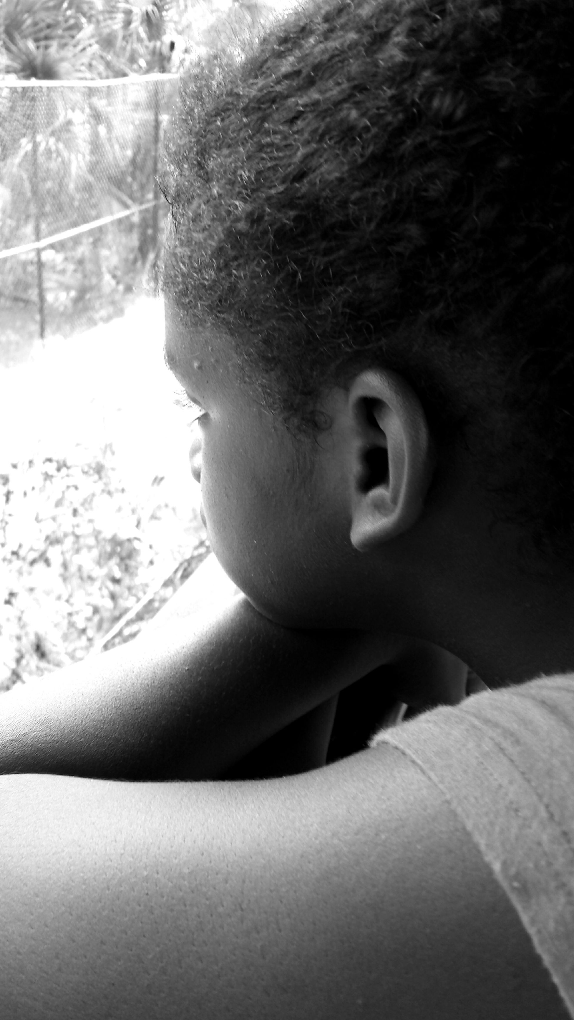 My daughter Mydaughter❤️ Black And White Nature Photography Pondering Nature