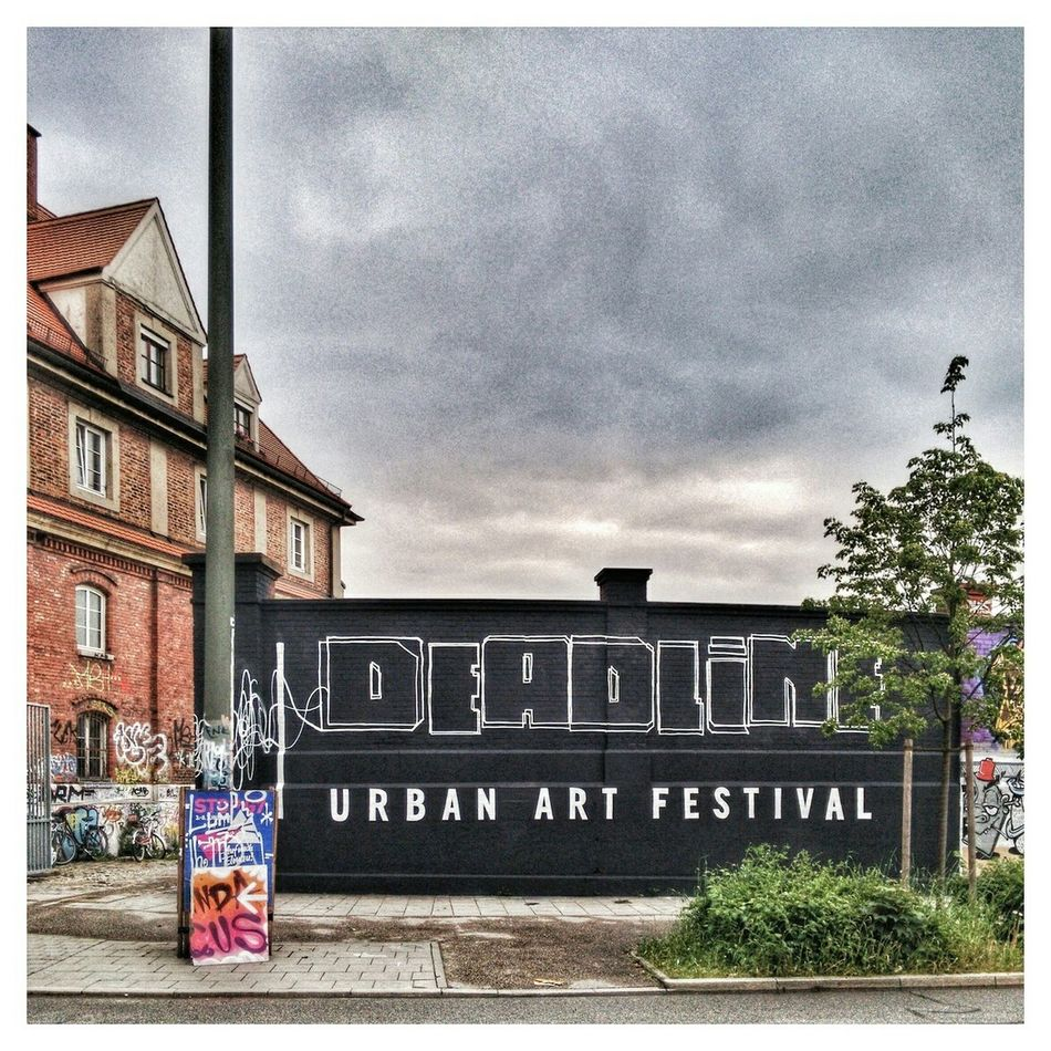 Deadline Urban Art Festival Exhibition Old Buildings München Graffiti Wall Rustygoodness Cityscapes Old Factory Hanging Out Enjoying The Sights Walking Around