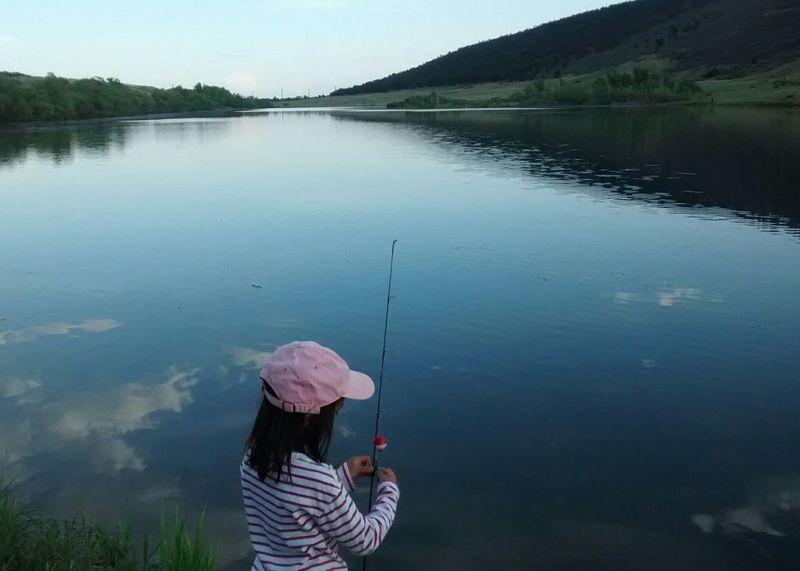 Gone Fishing Taking Photos Enjoying Life Water And Sky