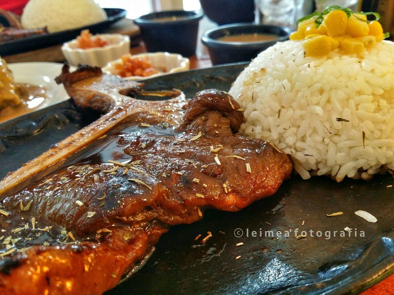I love you so T-bone steak! So delicious... Tbonesteak Favorite Delicious Todiefor Loveitsomuch Musttry  Foodpic Blogger Bloggerlife Photography Snapseed Leimeafotografia