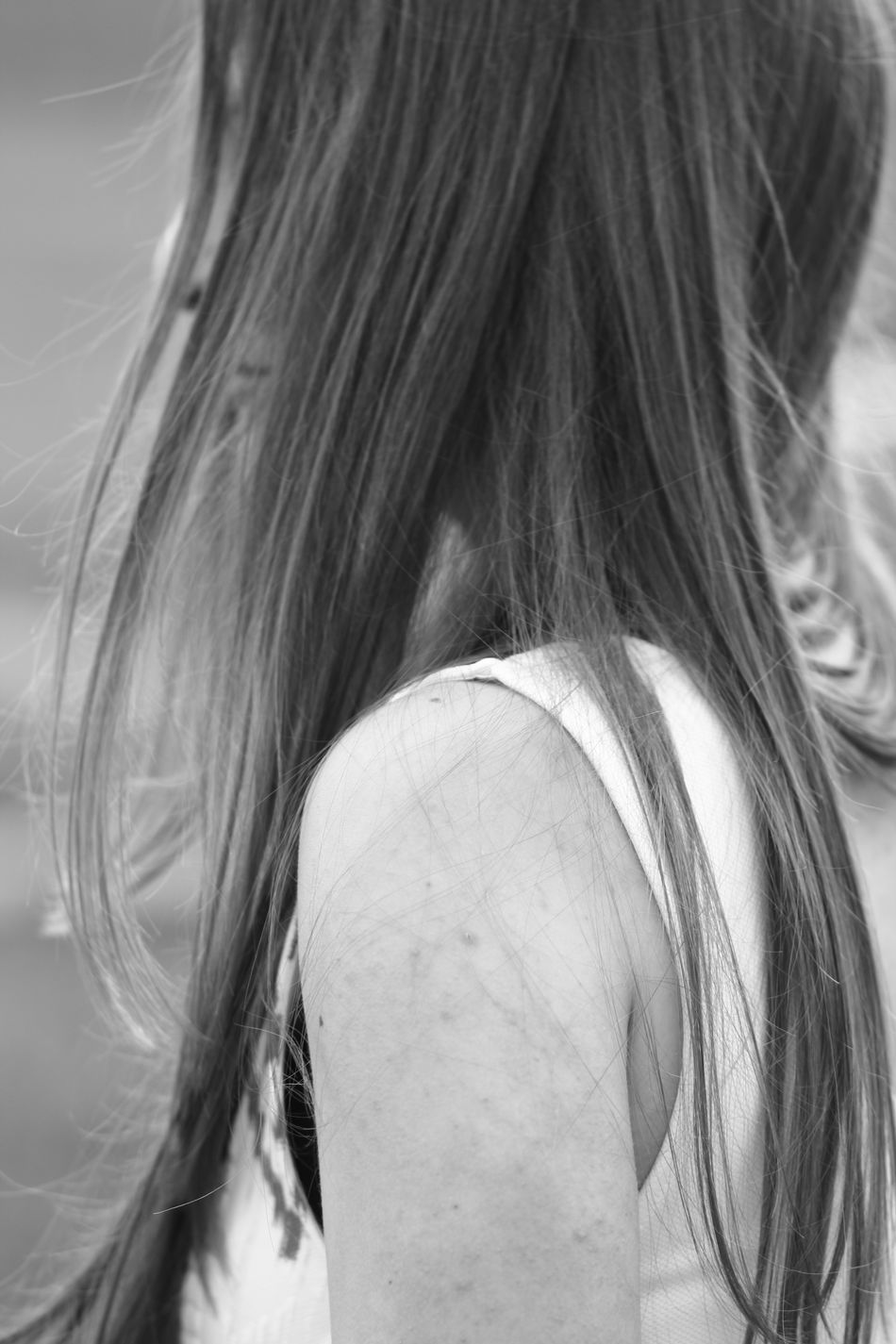 #blackandwhite #brunette #summer #freedom #fotoshoot #girl #me #eyes #lips #JustMe #lithuaniangirl Casual Clothing Close-up Day Headshot Human Hair Leisure Activity Lifestyles Long Hair