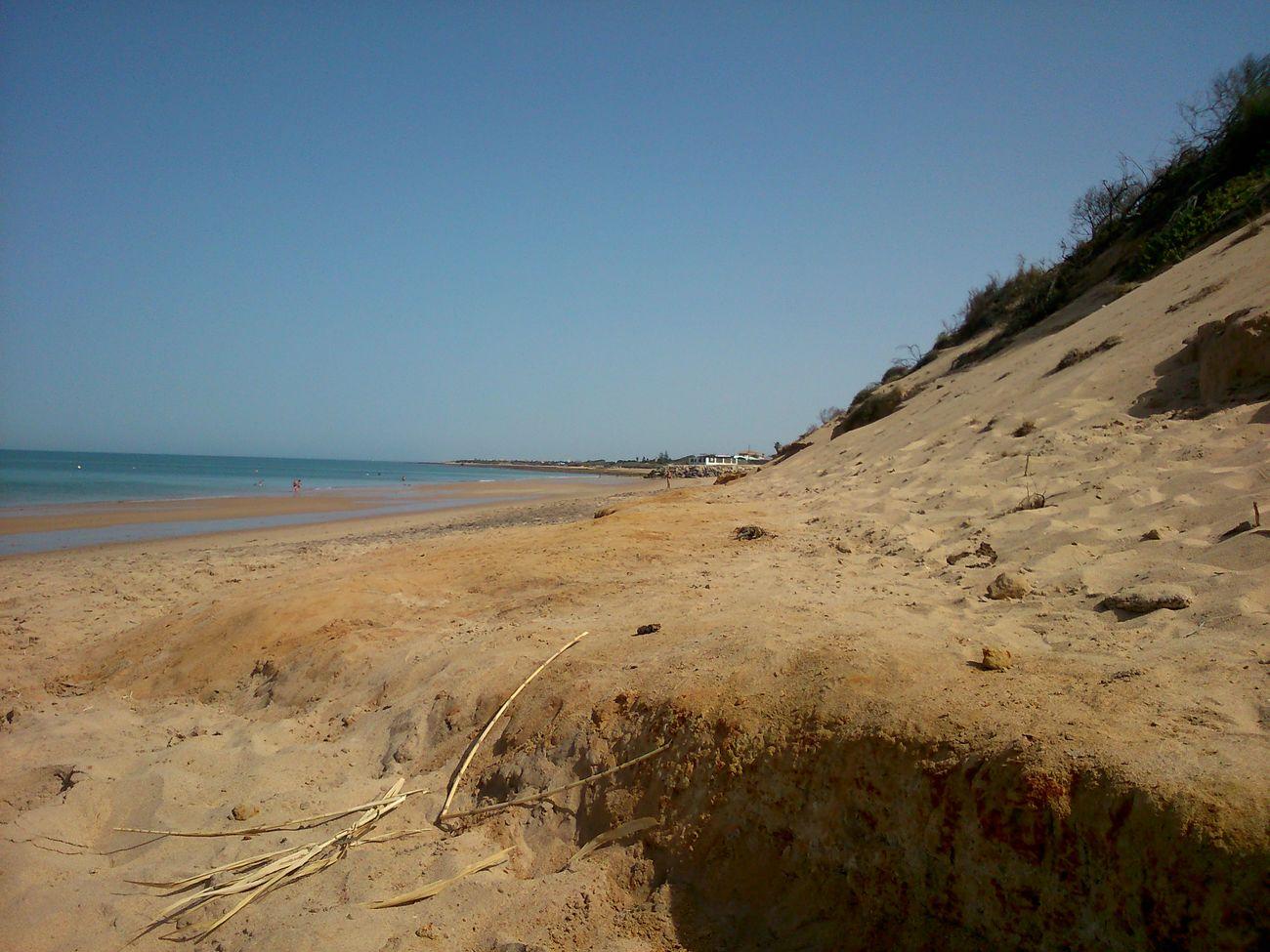 Playa De Punta Candor Taking Photos
