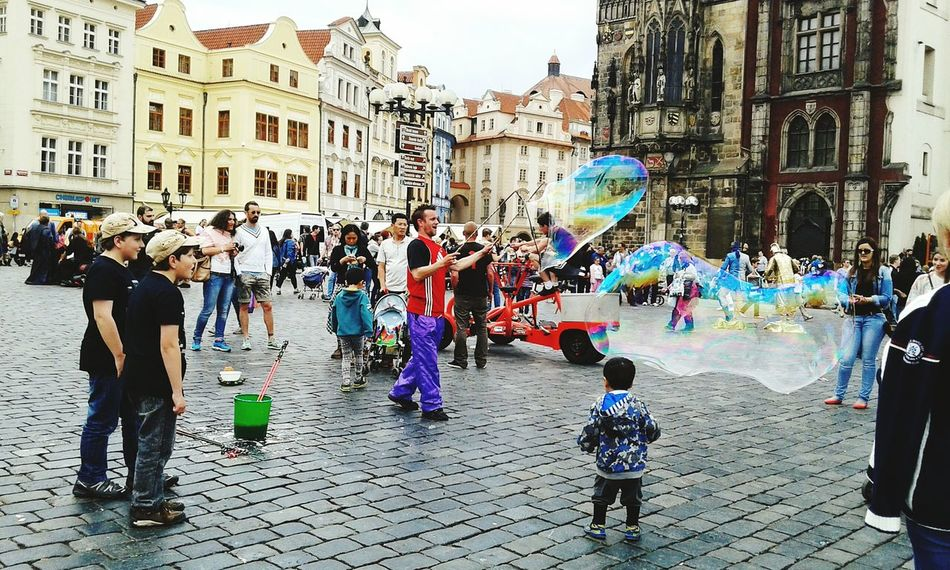 Prague Old Town Oldtown Square Czech Republic People Colors Historical Place The Traveler - 2015 EyeEm Awards Urban Lifestyle The Adventure Handbook Collected Community On The Way Fine Art Photography People And Places