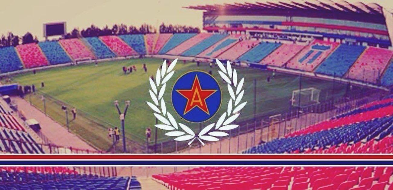 Steaua Bucuresti Ghencea Home 1947 Csa Red&blue One Love Muiedinamo