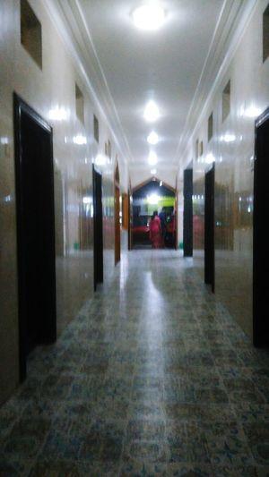A Corridor Of Hotel Sea Pearl, Gopalpur