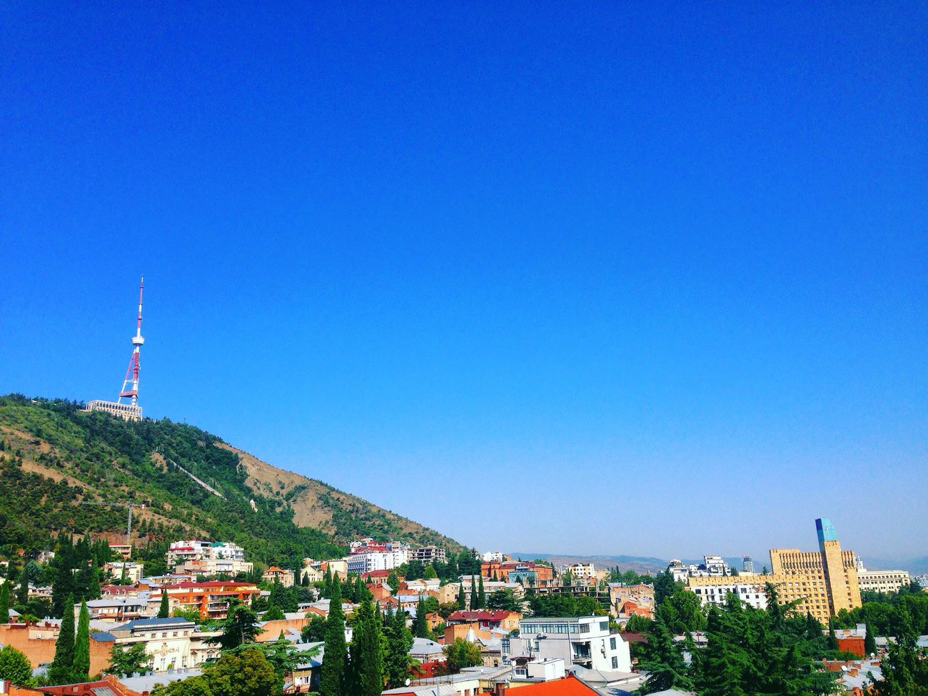 Tbilisi Tbilisi Loves You Georgia Country Town View