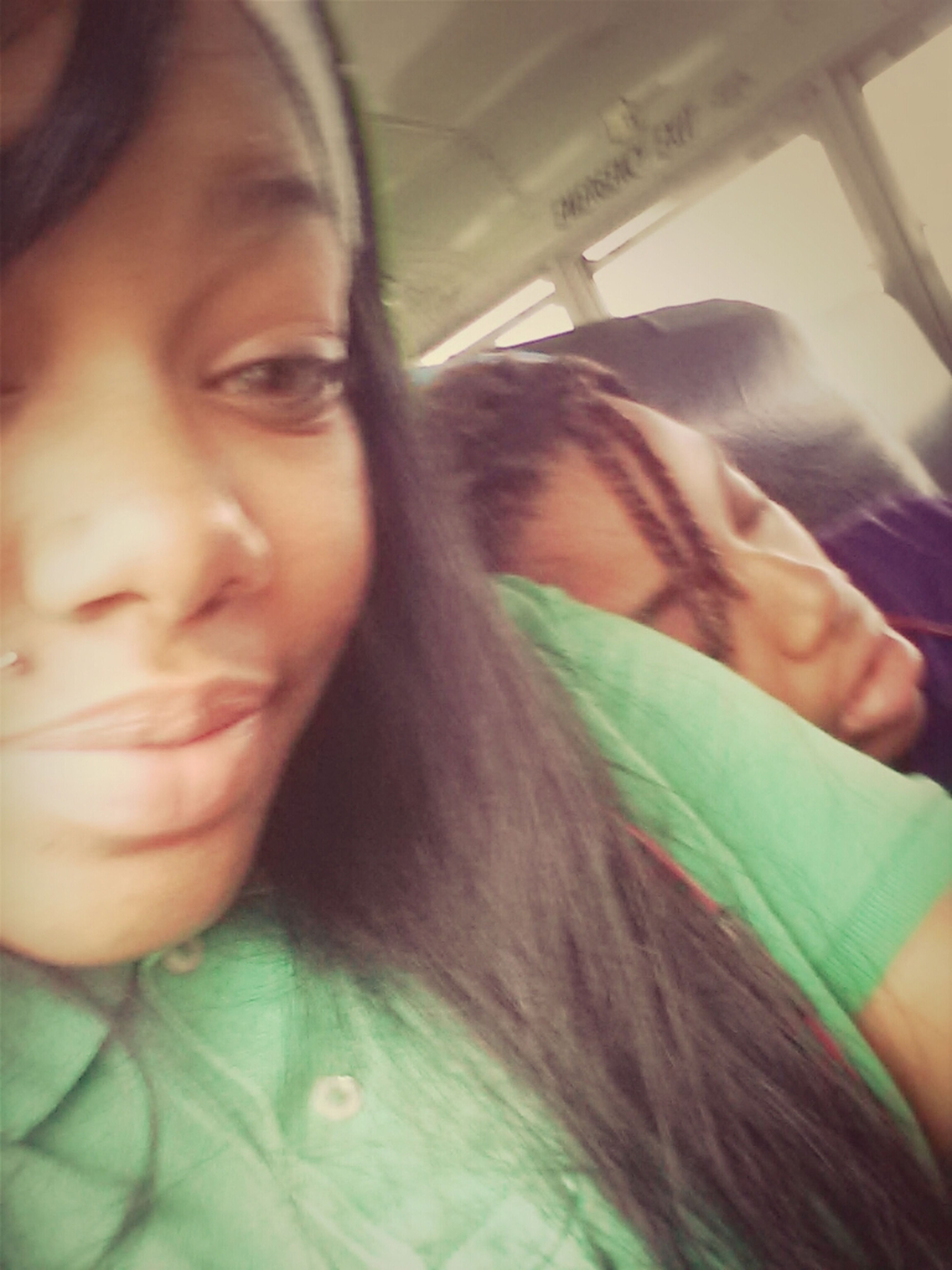 Me And Ce On The Bus