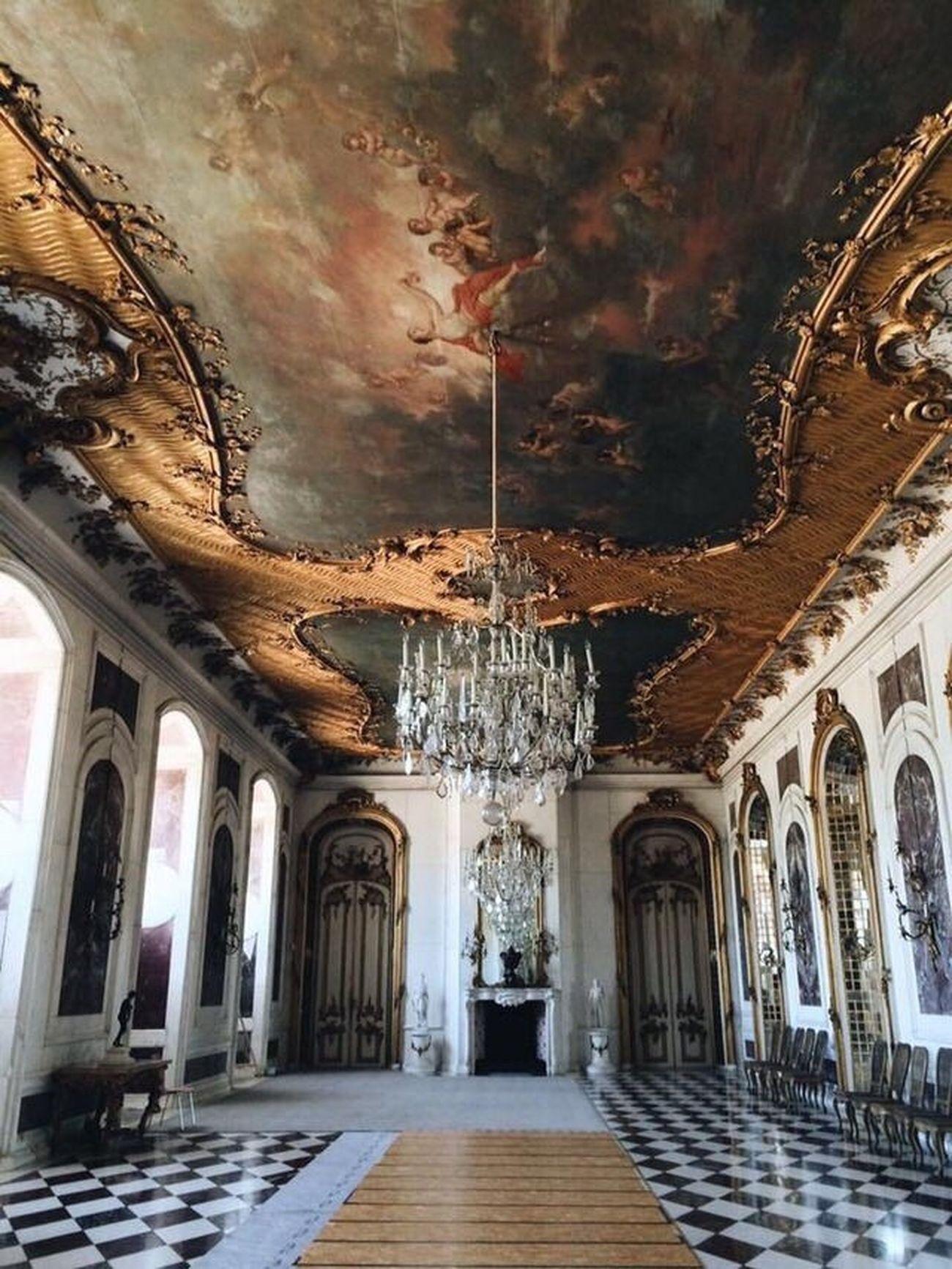 Architecture Indoors  Potsdam Palace Decor Beauty Design Rococo Germany Travel