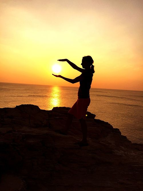 Magic Sunset Thailand Ko Lanta From My Point Of View Sunset Sun Relaxing Happy BeautifulTrip Beautifulview Enjoying Life