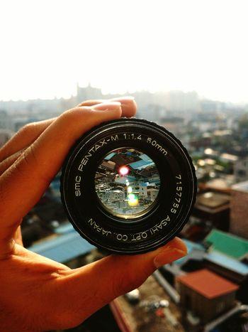 Lens - Optical Instrument Close-up Optical Instrument Pentax M Lens 50mm F/1.4