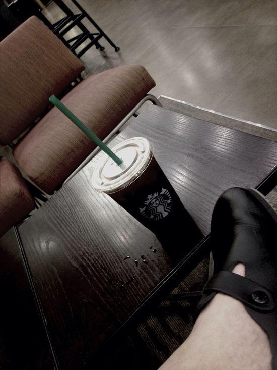 간만에... Cafe Americano Enjoying Life
