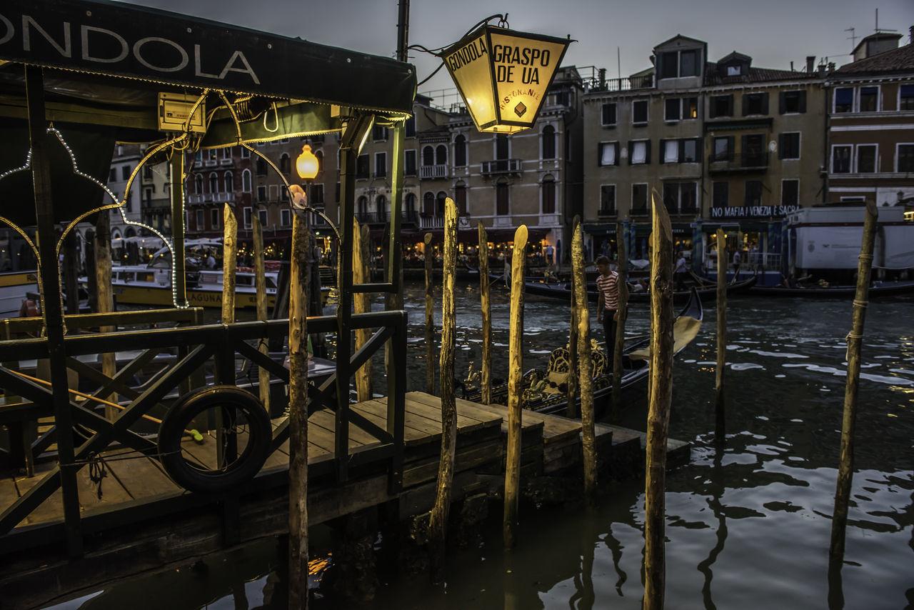 Abendstimmung am Canale Grande Abendhimmel Abendstimmung Canale Grande Evening Atmosphere Holiday Urlaub Venedig Venezia Italia Venice, Italy