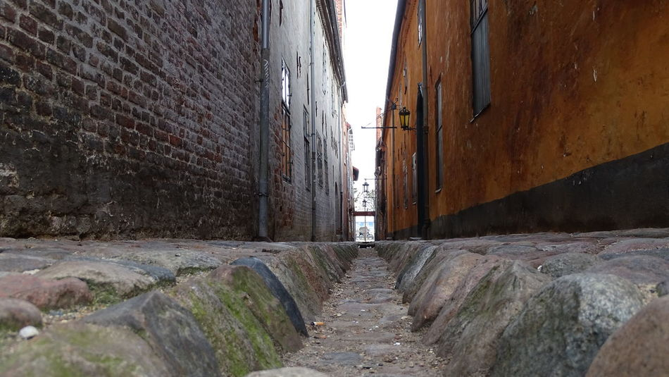 Built Structure Cobblestone Streets Day No People Old City Old Street Outdoors Strait