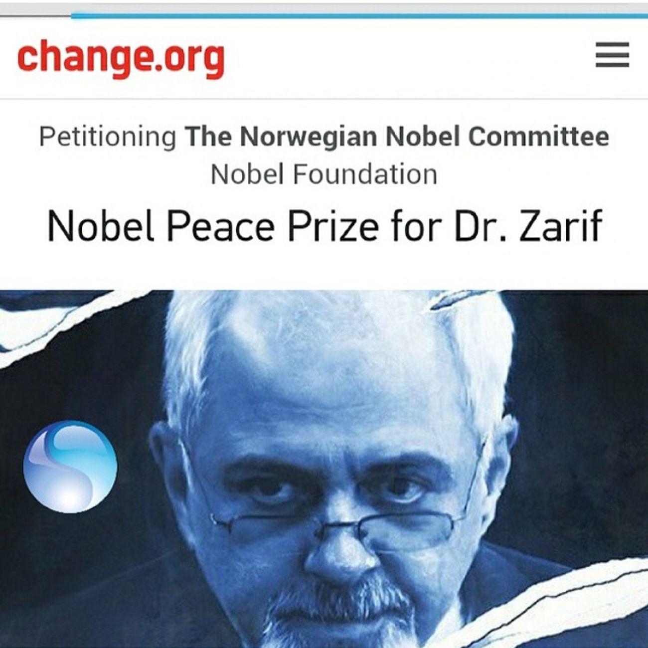 PEACE NO WAR Nobel Zarif Iran Persian No War Paece