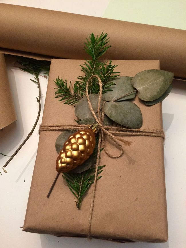 Christmas Decorations Christmas Gift Close-up Decor Decorating Decoration Decorations Gift Gift Wrap Gift Wrapping New Year's Gifts No People Potted Plant Wrangler Wrap Wrapped Gold Paper 43 Golden Moments