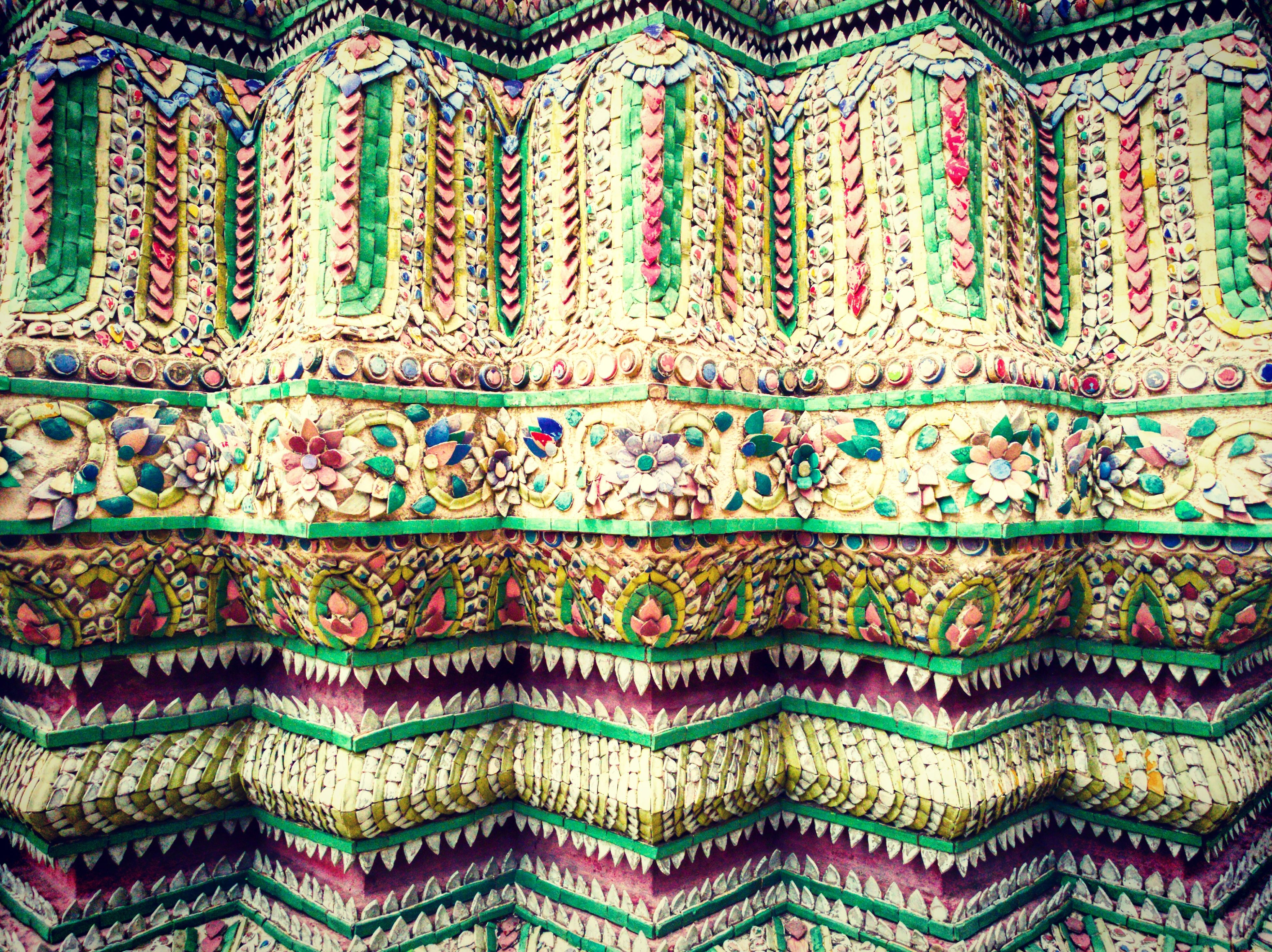 full frame, pattern, backgrounds, multi colored, design, indoors, textured, textile, blue, close-up, fabric, colorful, floral pattern, no people, art and craft, high angle view, repetition, day, detail, creativity