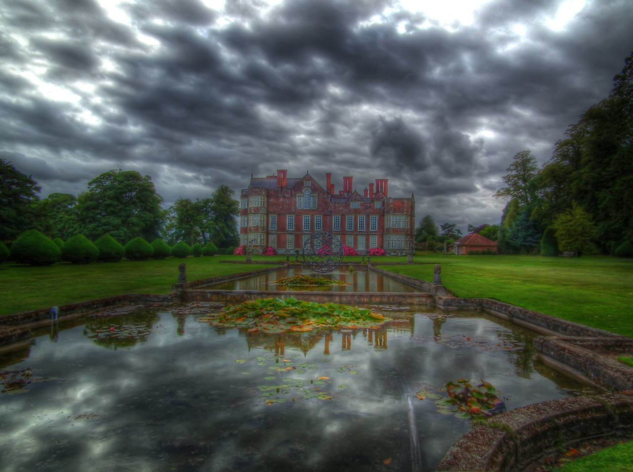 Stately Home East Yorkshire Garden Garden Photography