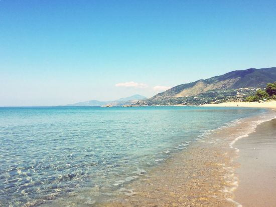 Paradise Beauty In Nature Beach Tranquility Sea Palinuro