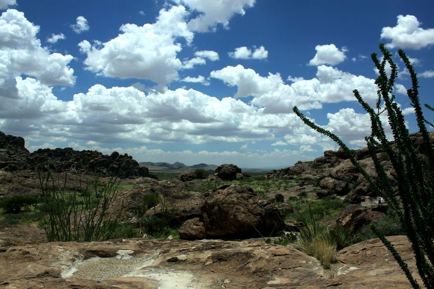 Tranquility No People Beauty In Nature Landscape Cloud - Sky Nature Sky Outdoors Rocky Arid Climate Desert Rock Climbing Area Beauty In Nature Breathing Space Lost In The Landscape