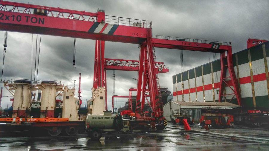 Shipyard Rain Yalova Altınova First Eyeem Photo