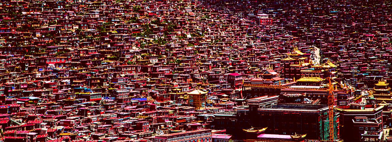 摄影 建筑 旅行 色达 风光 宗教 佛教 Hin 红房子