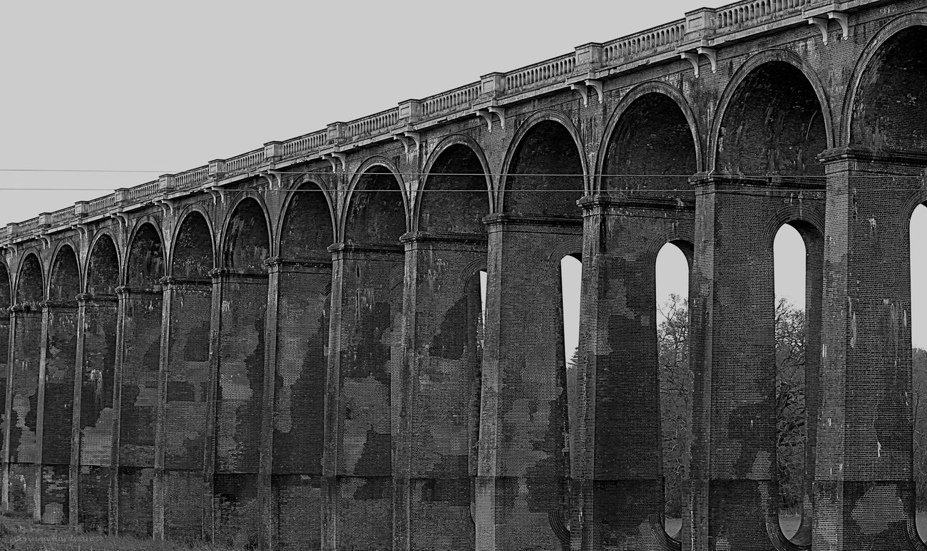 Balcombe Viaduct Ancient Arch Arch Bridge Architectural Column Architectural Feature Architecture Balcombe Viaduct Built Structure Capital Cities  Column Culture Day Engineering Famous Place History International Landmark Low Angle View No People Outdoors Sky The Past Tourism Travel Destinations