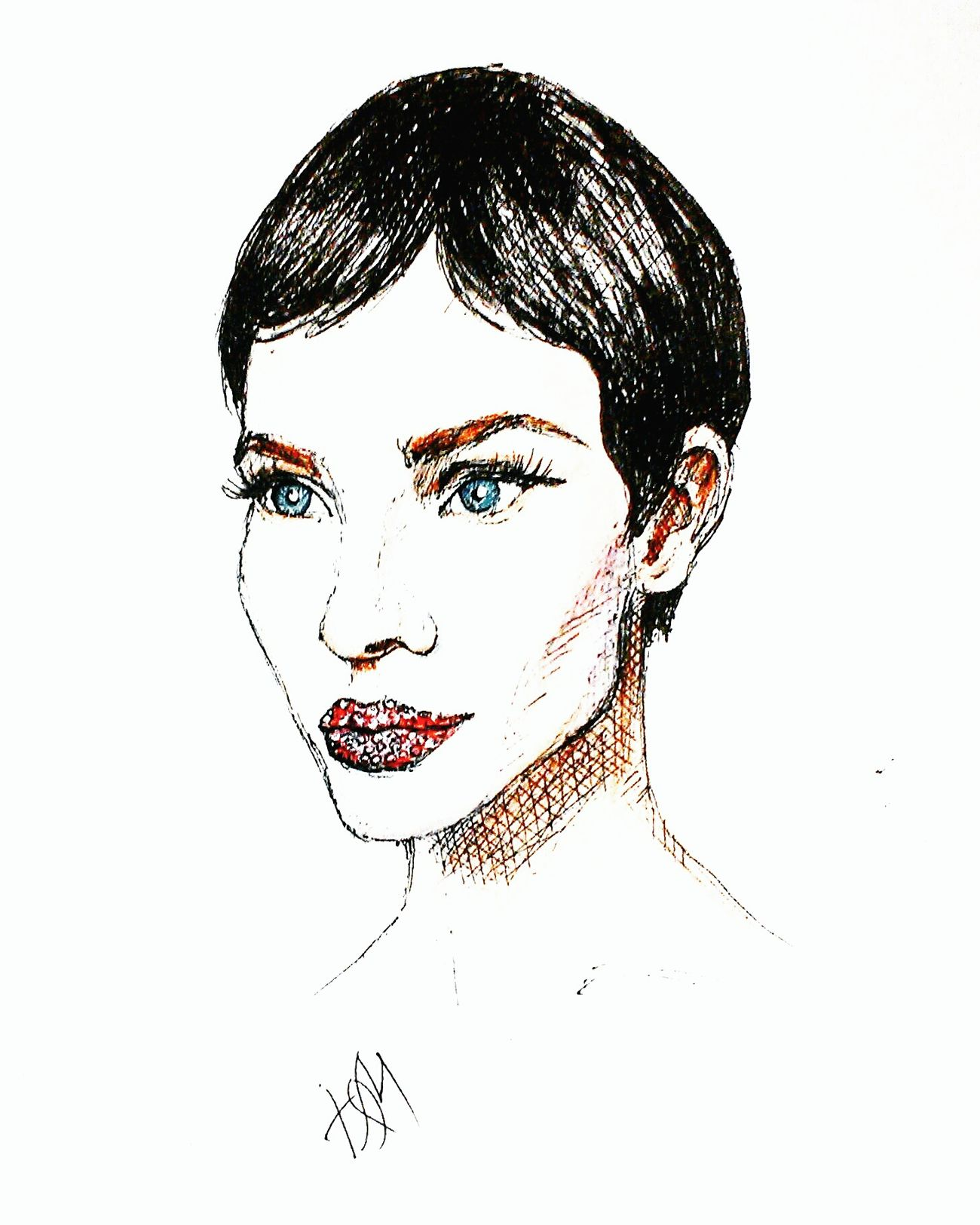 Sketch Quicksketch Pen Drawing Drawing Fashionillustration