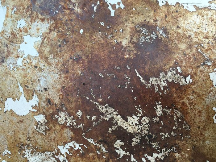 Desk Metal Rust Paint