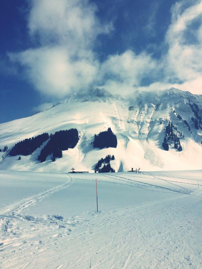 Kaiseregg Schwarzsee Skitouring Thankful Power In Nature Beautiful Day