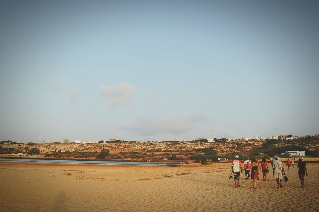 The way back home from the beach Beach Oualidia Beach People Travel Morocco MoroccoTrip Oualidia Oualidia Lagoon Adventure Buddies Telling Stories Differently Sand Escaping The Road Less Traveled The Great Outdoors Live For The Story
