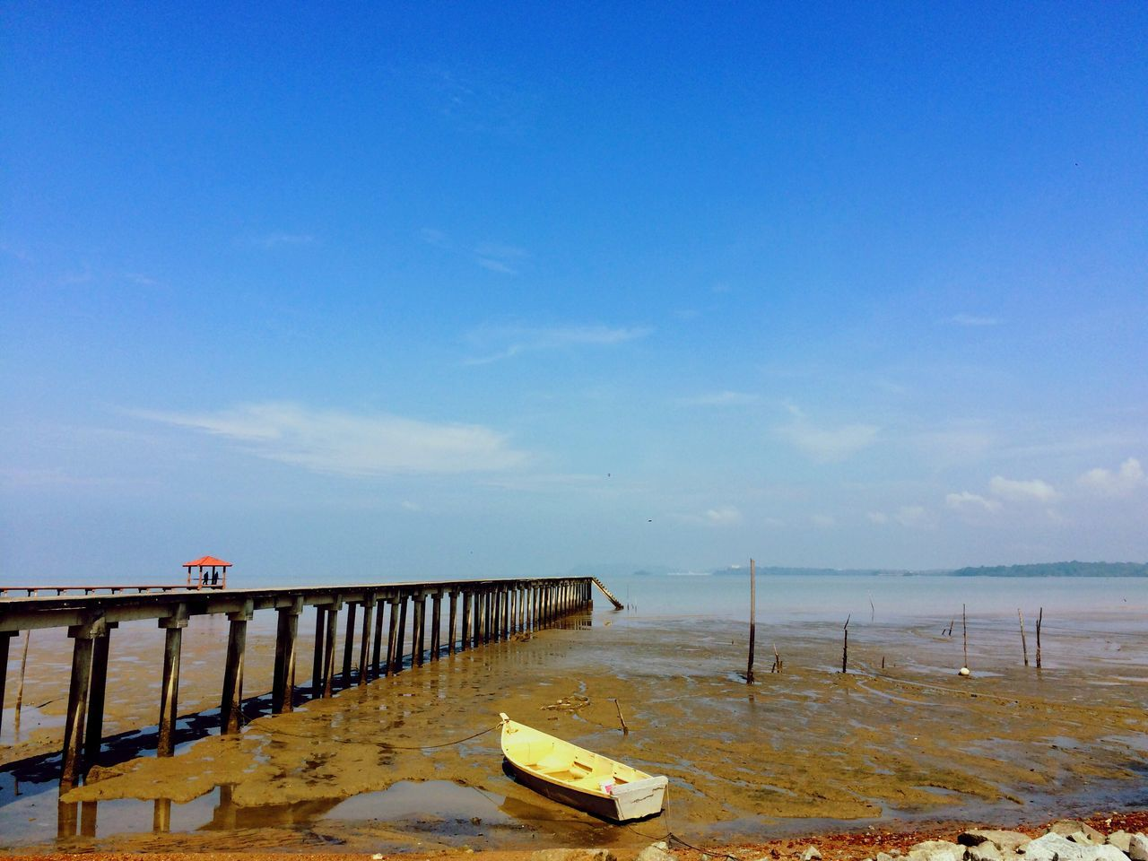 sky, water, nature, outdoors, day, tranquility, scenics, sea, no people, beauty in nature, horizon over water, architecture