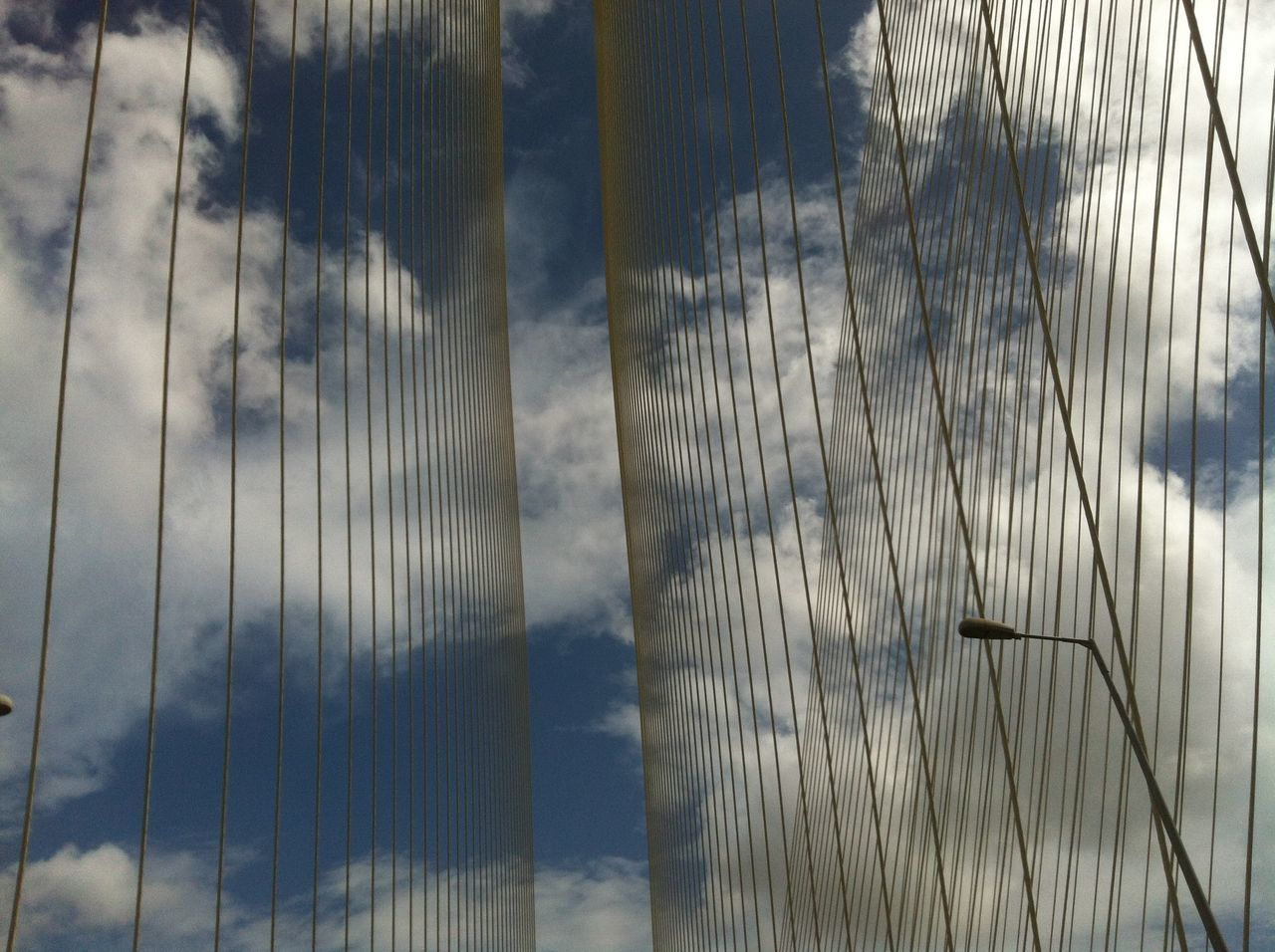 Blue Cabled Brid Cloud Engineering Growth Lines And Shapes Outdoors Sky World Worli Worli Sealink