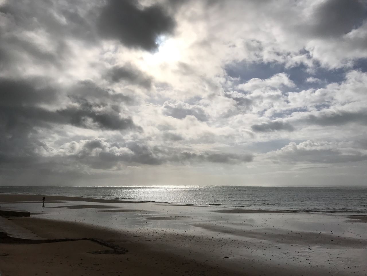 Sea Beach Horizon Over Water Water Sky Nature Sand Cloud - Sky Beauty In Nature Scenics Wave No People Outdoors Day