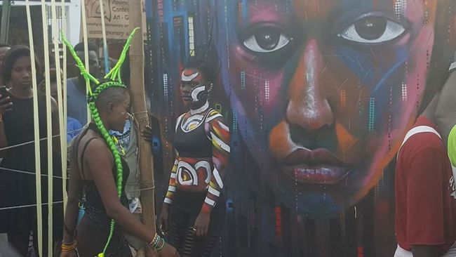Accra street arts festival