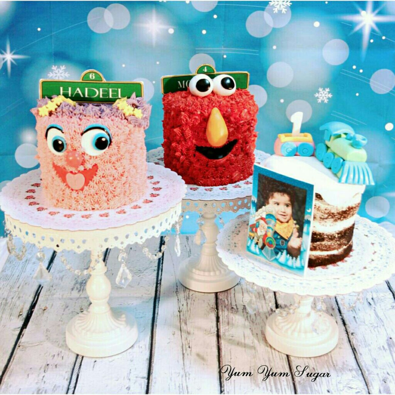 Elmo Sweets Food Cake Art Abby Cadabby Al Qatif Safwa Sesame Street Cool