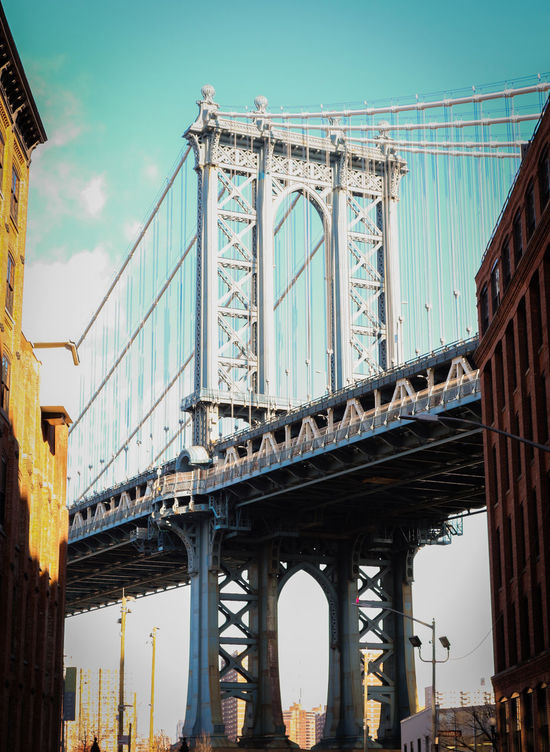 Travel Architecture City Travel Destinations Tourism Metropolitan Metropole NYC NYC Photography Nycphotography NYCImpressions New York Brooklyn Manhattan Bridge/New York Manhattan Bridge DUMBO DUMBO, Brooklyn Bridge Bridge Photography Bridge Pillar Steel Bridge